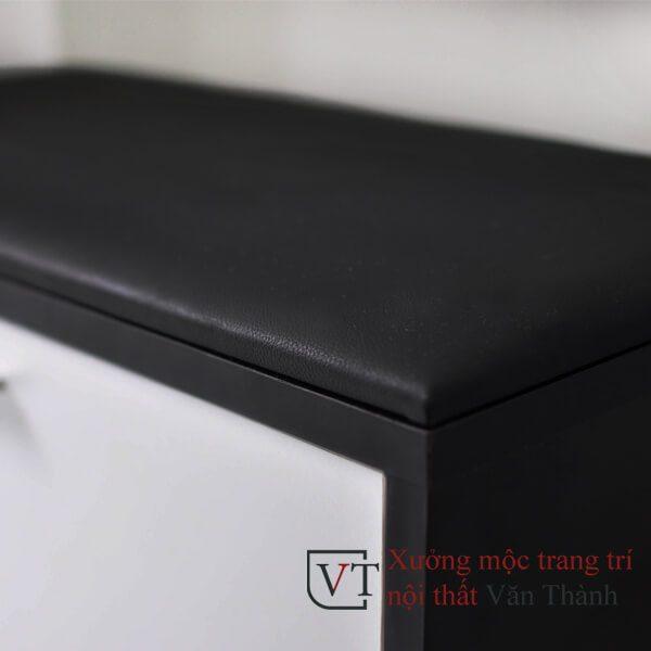 Tủ giày thông minh 1 tầng kiêm ghế ngồi sang trọng sắc nét