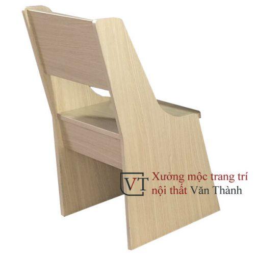 Ghế học sinh màu vân gỗ