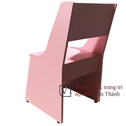 Ghế học sinh màu hồng