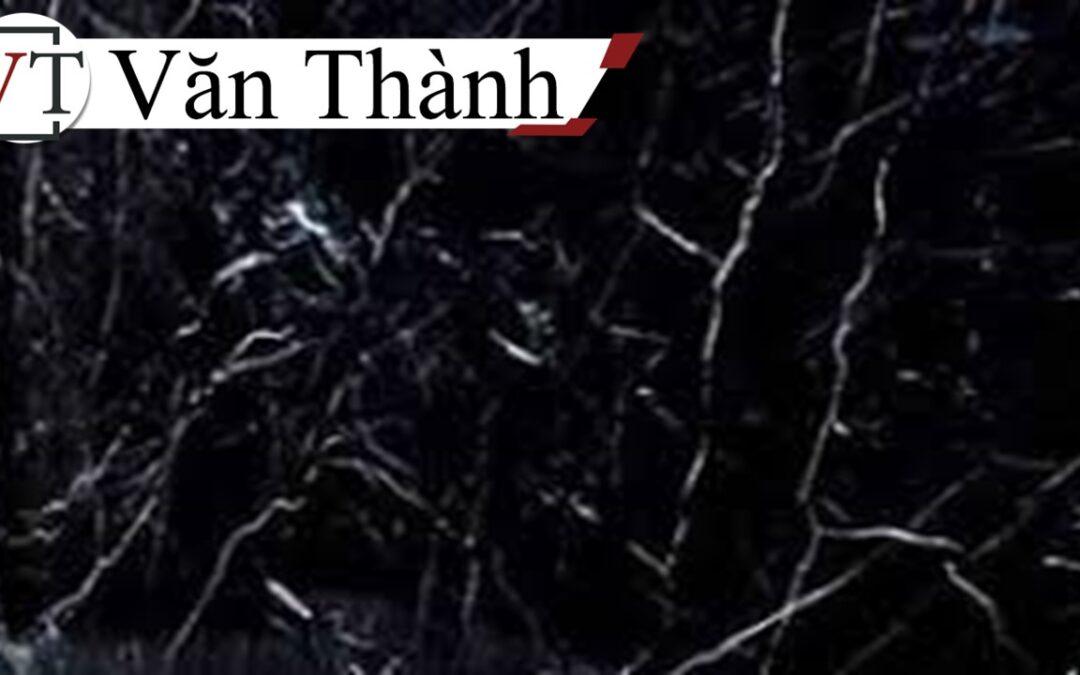 Đá marble đen vân trắng/chỉ trắng – Nội thất Văn Thành